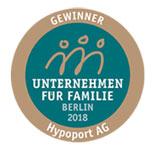 Gewinner Familienfreundliches Unternehmen 2018